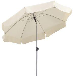 schneider sonnenschirm locarno natur ca 200 cm 8 teilig rund 1. Black Bedroom Furniture Sets. Home Design Ideas