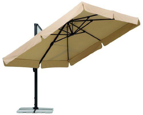 schneider sonnenschirm rhodos natur ca 300 x 300 cm 8 teilig quadratisch. Black Bedroom Furniture Sets. Home Design Ideas