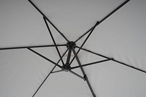 wandschirm casoria ampelschirm mit wandbefestigung. Black Bedroom Furniture Sets. Home Design Ideas